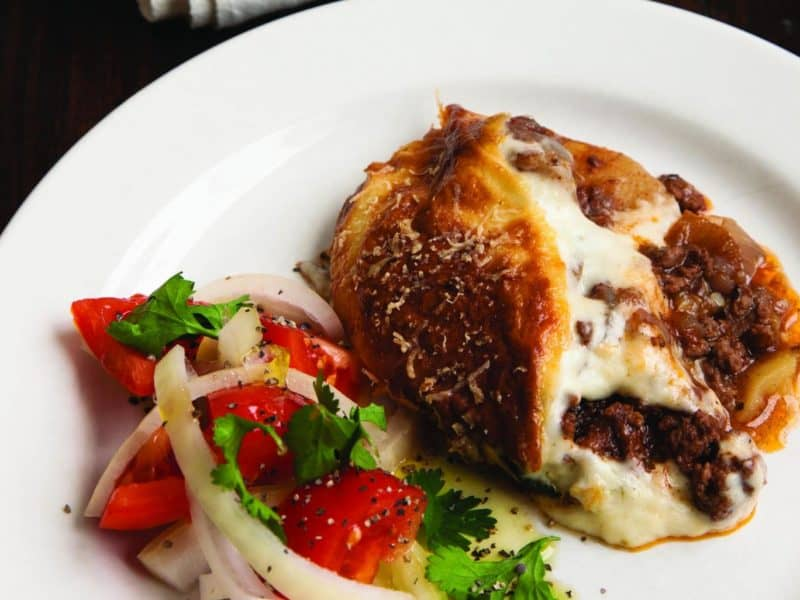 Classic Greek Moussaka Recipe