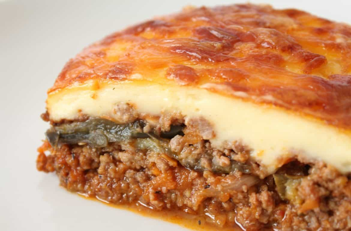 Budget Kitchen Ideas Classic Greek Moussaka Recipe Cheap Dinner Ideas