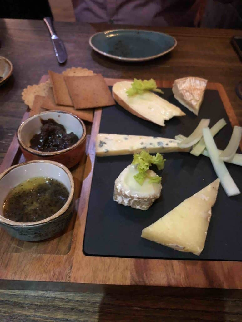 review cheese board tickled trout