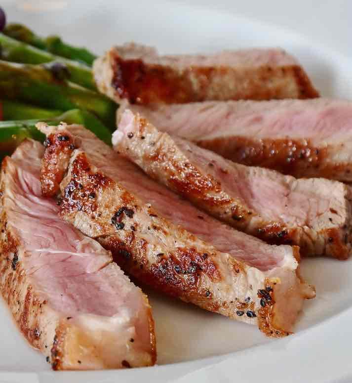 the pork for homemade chicken liver pate