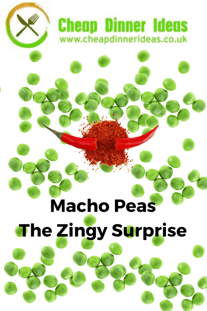 pintrest media for macho peas
