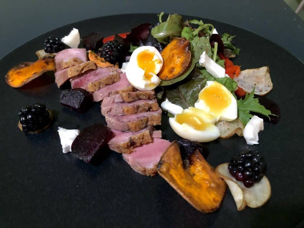 could duck breast salad